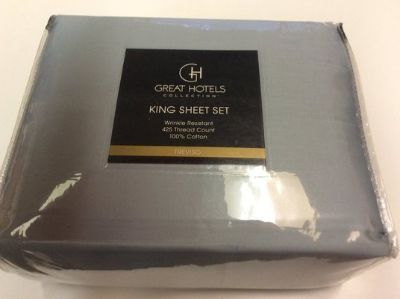 ***BRAND NEW***Great Hotels Collection King Size Sheet Set***