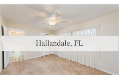 House for rent in Hallandale. Will Consider!