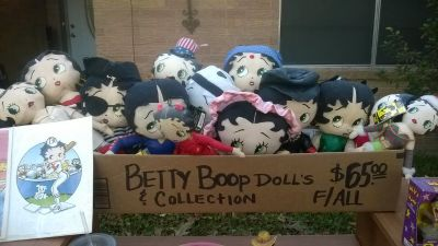 BETTY BOOP DOLL COLLECTION