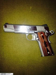 For Sale/Trade: Springfield loaded stainless steel 1911 45