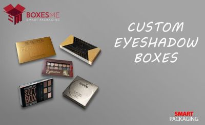Get Amazing Designs of Custom Eyeshadow Boxes