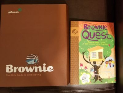 Girl scout brownie books