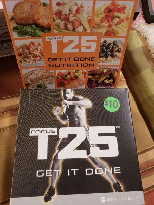 Complete T25 Fitness Set..as seen on TV