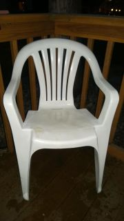 Lawn Chair White, Cross Posted