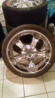22 INCH TIRES AND WHEELS