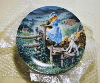 """Bradford Exchange Collector Plates, """"Classic Mother Goose"""""""