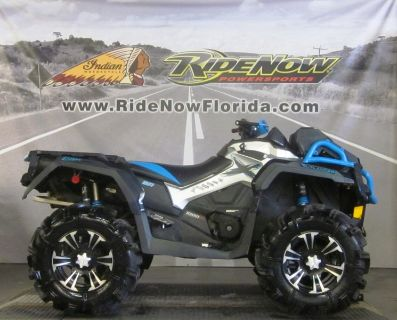 $12,999, 2017 Can-Am Outlander X mr 1000R Black, White Can-Am Red