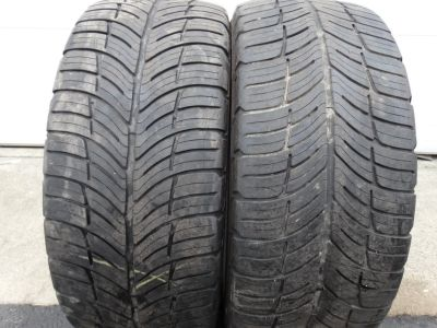 2 - Used 235/50ZR18 BF Goodrich G Force Com-2 Tires