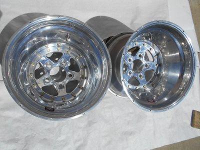 Weld Aluma Star wheels