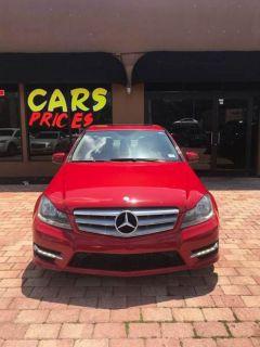 2012 Mercedes-Benz C-Class C250 Luxury (Red)