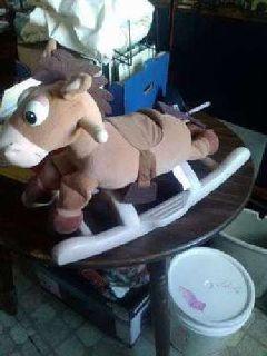 Bullseye Rocking Horse