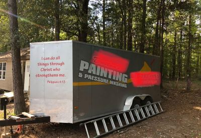 7x16 tall enclosed trailer