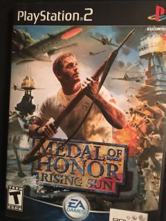 Play Station 2 Medal Of Honor-Rising Sun $10