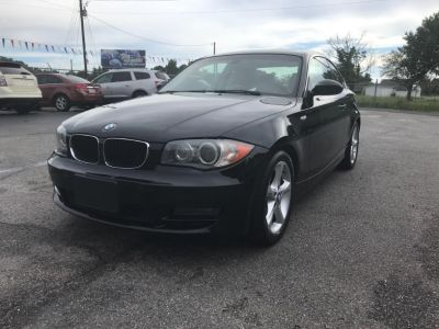 2009 BMW 1-Series 128i (Black)