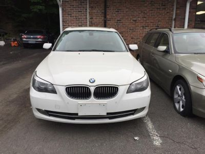 2009 BMW 5-Series 535xi (White)