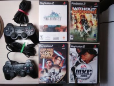 PS2 Games & Controllers