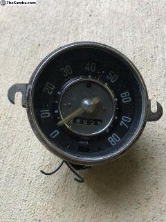 Early speedometer