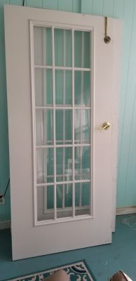 Solid wood French Doors- Need Gone Today!