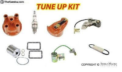 Engine Tune Up Kit, Aluminum Distributor, all 356