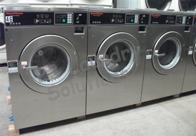 Heavy Duty Speed Queen Front Load Washer SC40BC2 40LB 3PH 220V Used