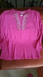 2 NEW WITH TAGS PLUS SIZE BLOUSES