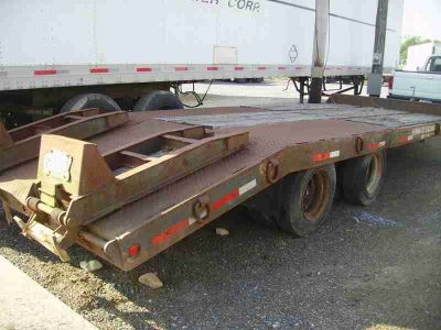 1989 Interstate Equipment Trailer