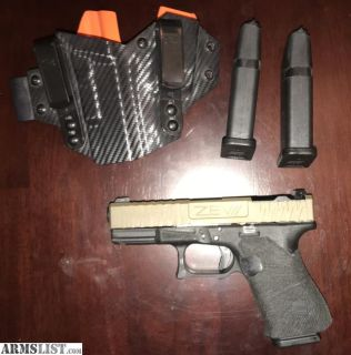 For Trade: G19 With Zev Slide And Extras