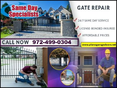 Residential New gate Installation only on starting $26.95 | Plano, TX
