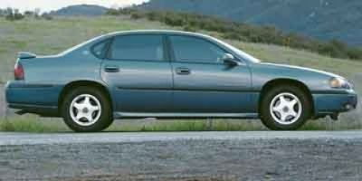 2001 Chevrolet Impala LS (Galaxy Silver Metallic)