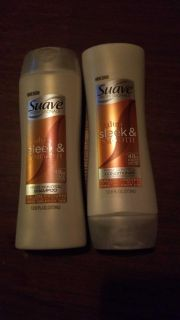 $2.50 set of suave ultimate sleek and shine shampoo and conditioner