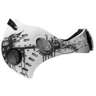 Sell RZ Mask M1 White Splat Air Filtration Adult Protective Masks motorcycle in Manitowoc, Wisconsin, United States, for US $26.95