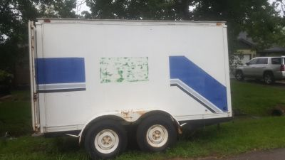 12 6 enclosed trailer