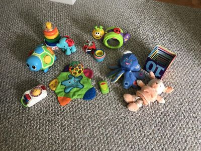Free Baby Toy Lot