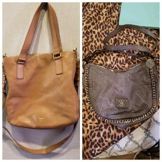 FOSSIL & GUESS PURSES