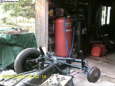 Pan 60 - 65 Bug OEM VIN# -ED 75080-