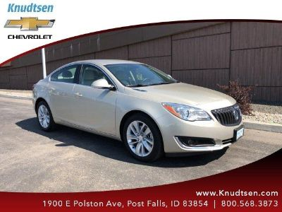 2016 Buick Regal Base (Sparkling Silver Metallic)