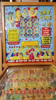 Pinball Machine - 1955 Gay Time