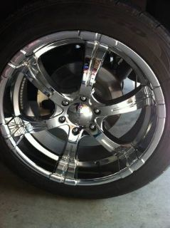 22 rims and tires for sale or trade