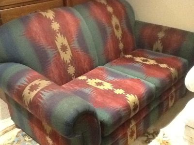 Loveseat/2seat couch. FREE