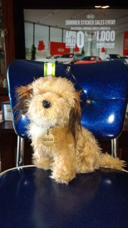 Vintage 1978, Benji plush with metal dog tag. Ave online price w/shipping is $21.50. Asking $14.00