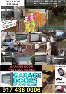 AVAILABLE ALL DAY-GARAGE DOOR REPAIR AND INSTALLATION SERVICE/NY/LI