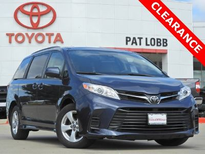 2018 Toyota Sienna LE Auto Access Seat (blue)