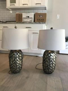 Set of 2 lamps from ashley furniture