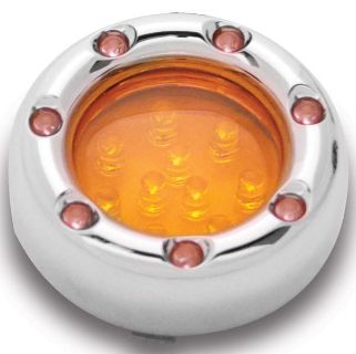 Buy ARLEN NESS CHROME FIRE RING TURN SIGNAL HARLEY LED AMBER / AMBER TRIM LED motorcycle in Gambrills, Maryland, US, for US $92.95