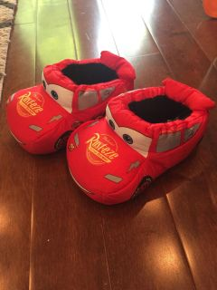 9-10 Cars slippers