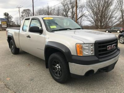 2007 GMC Sierra 1500 Work Truck (Gray)