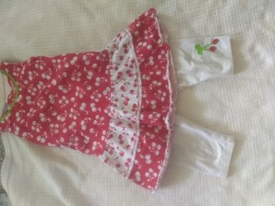 2 PC cherry outfit