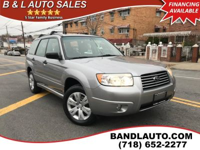 2008 Subaru Forester 2.5 X (Steel Gray Metallic)