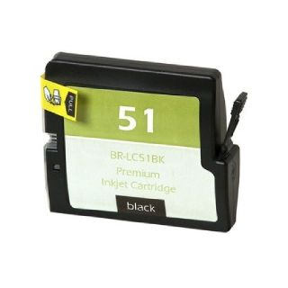 Compatible Ink Cartridge To Replace Brother LC51Bk - Atlantic Inkjet