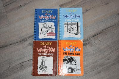 Diary of a Whimpy Kid Soft Cover Books